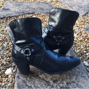 Durango - Shorty Zip Bridle Strap Cowboy Boots
